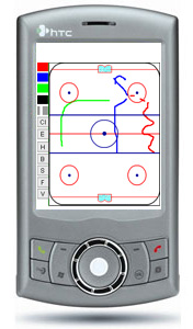 Pda Hockey Board