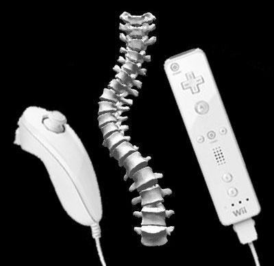 Manette Wii et Cours d'anatomie