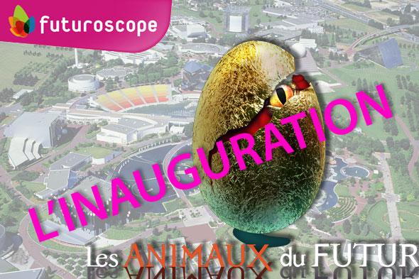 Inauguration des Animaux du Futur au Futuroscope