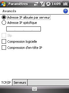 """Paramètres option """"Web & mail"""" de Bouygues Telecom etape 10"""