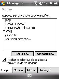 """Paramètres option """"Web & mail"""" de Bouygues Telecom etape 17"""