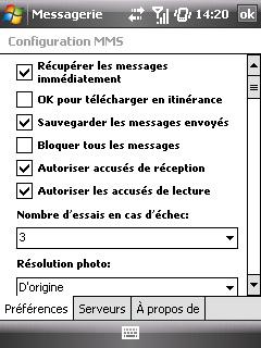 """Paramètres option """"Web & mail"""" de Bouygues Telecom etape 18"""