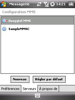 """Paramètres option """"Web & mail"""" de Bouygues Telecom etape 19"""