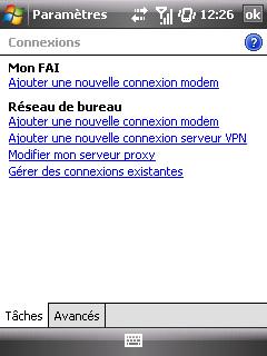 """Paramètres option """"Web & mail"""" de Bouygues Telecom etape 2"""