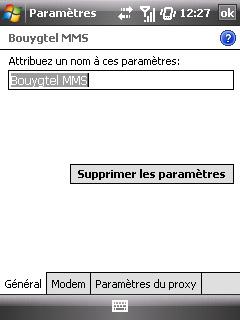 """Paramètres option """"Web & mail"""" de Bouygues Telecom etape 5"""