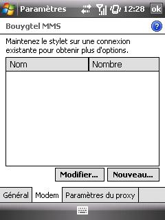 """Paramètres option """"Web & mail"""" de Bouygues Telecom etape 6"""