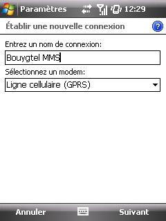"""Paramètres option """"Web & mail"""" de Bouygues Telecom etape 7"""