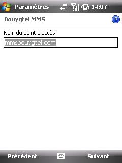 """Paramètres option """"Web & mail"""" de Bouygues Telecom etape 8"""