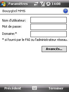 """Paramètres option """"Web & mail"""" de Bouygues Telecom etape 9"""