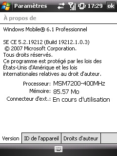 Windows Mobile 6.1