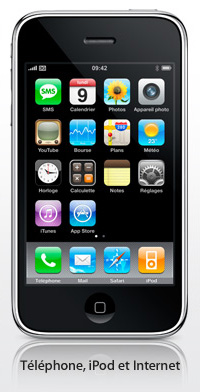 iPhone 3G chez Bouygues Telecom en Septembre