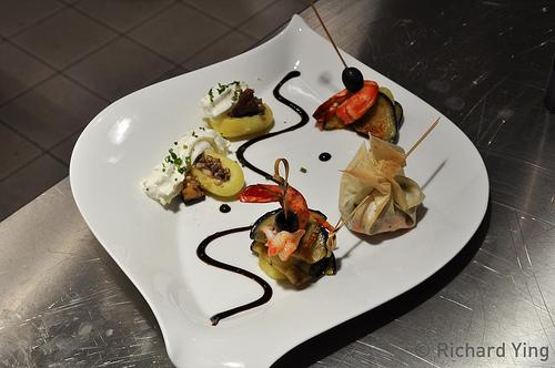 J 39 ai appris cuisiner gr ce mccain h2 blog - Decoration foie gras assiette ...