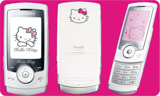 Samsung U600 Hello Kitty