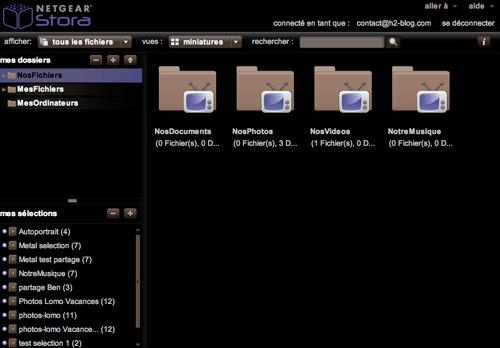netgear stora ms2110 software