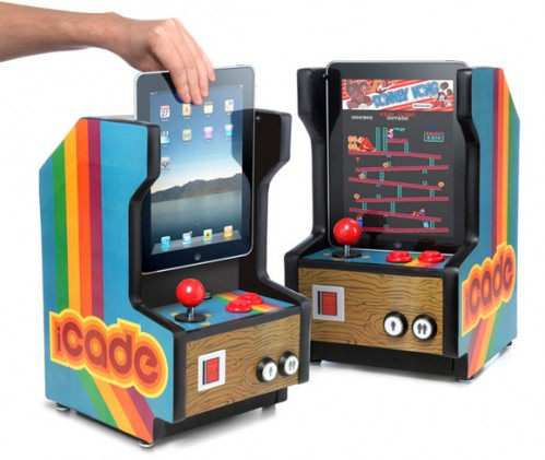 Transformer un ipad en borne d 39 arcade yes icade h2 blog for Meuble pompe a essence