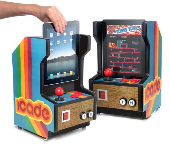 iCade-iPad-Arcade-Cabinet