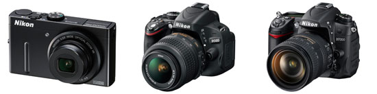 Nikon-P300-D5100-D7000