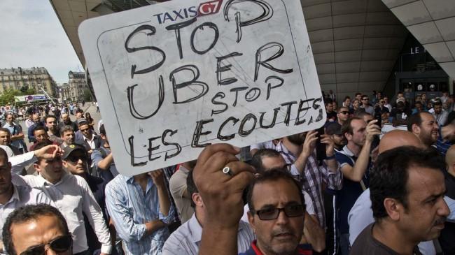 La France a arrêté 2 responsables d'Uber pour activité illégale