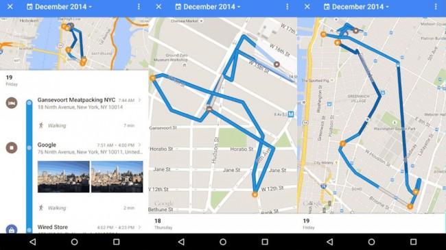 Google Maps vous permet de retracer où vous êtes allé
