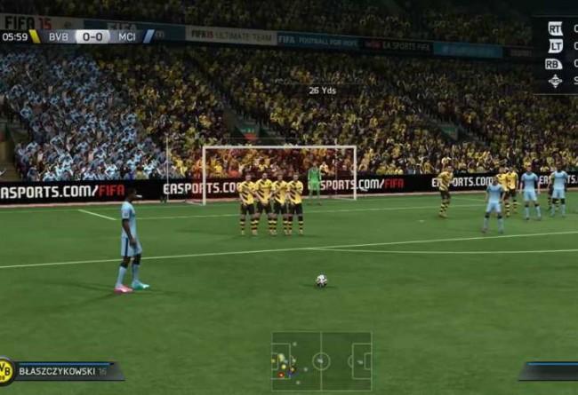 Coup franc FIFA 15 : Comment en tirer un