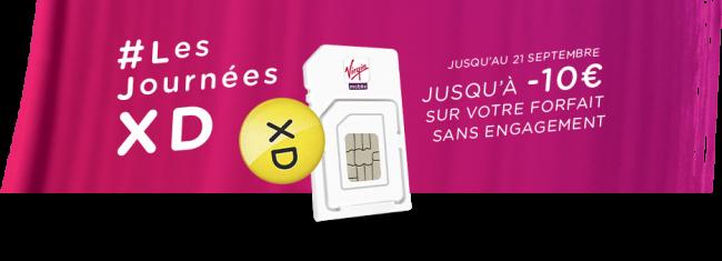 Bon plan : Deux forfaits à moins de 4 euros chez Virgin Mobile