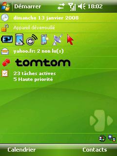 Theme HTC P3300 Vert