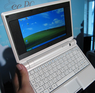 L'Asus Eee PC ne sera commercialisé que sous Windows XP ???