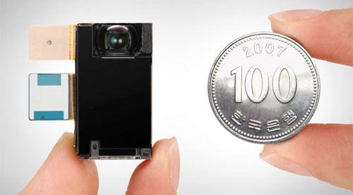 Capteur 8 mégapixels pour téléphones mobiles