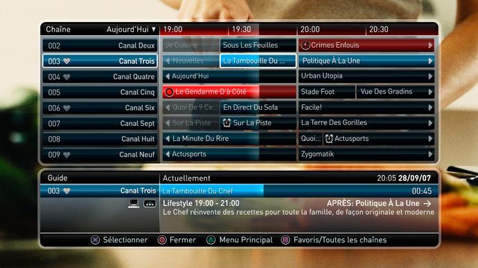 Play TV sur Playstation 3