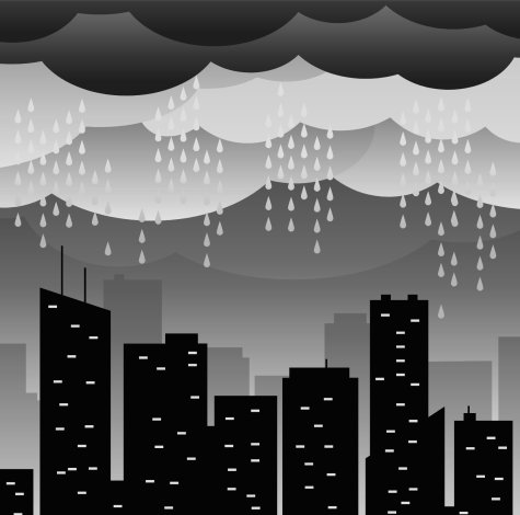city-rain