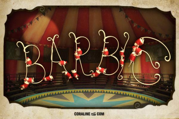 Coraline souris BARBIE