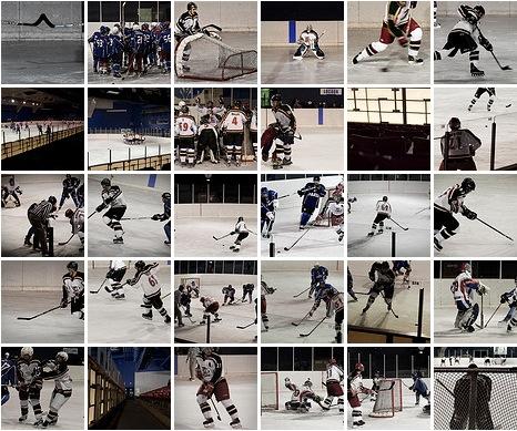 Album flickr photos du Match de Hockey sur Glace Français Volants vs Caribous de Courbevoie