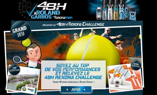 rexona 48H challenge